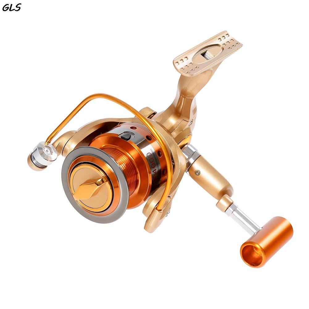 500-9000 12BB Angelrolle fly fishing reel Spinning Angelrollen Links/Rechts Metall Griff Nicht gap angeln rad