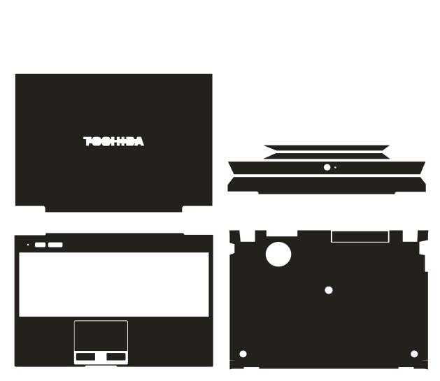 Protecteur spécial de couverture d'autocollants de peau de vinyle de fiber de carbone en cuir pour Toshiba Portege Z830 Z930 13.3