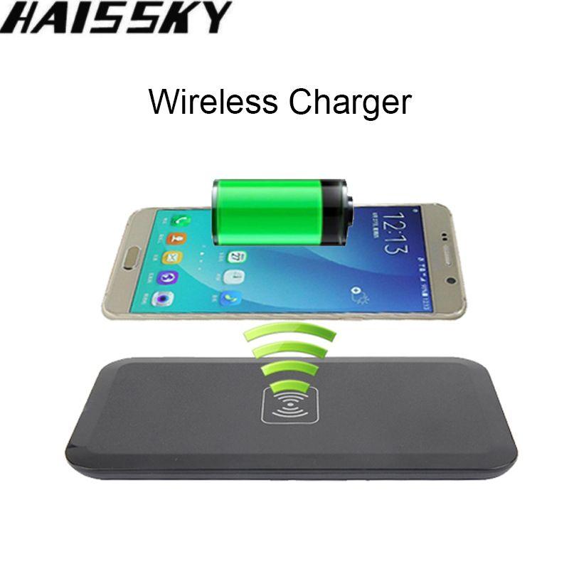 Tragbare Qi Wireless-ladegerät Für Samsung Galaxy S8 Plus S7 rand S6 kante Anmerkung 5 Elefon P9000 Telefon Lade Pad Für iPhone X 8