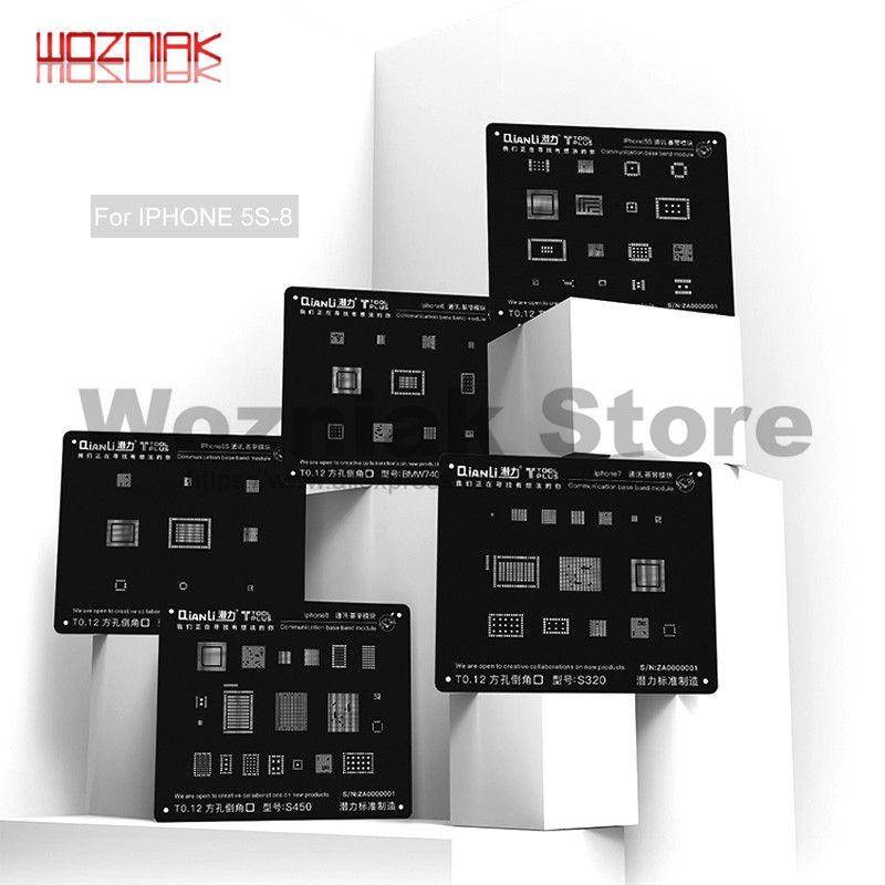 Wozniak Universal Repair Black Steel net for IPHONE 5G/5S/6G/6S/7G/8G Communication baseband CHIP Precision square hole