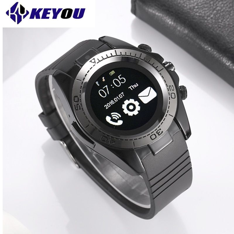 KY SW007 Clock phone Smart Watch Bluetooth Sport Smartwatch Men Android IOS Camera Wearable <font><b>Devices</b></font> 2G Sim TF card smartwach