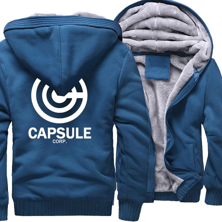 Sweatshirt For Men 2018 Hot Sale Thick Hoodie Print DRAGON BALL Anime Fashion Streetwear Fitness Men's Sportswear Hoodies Kpop