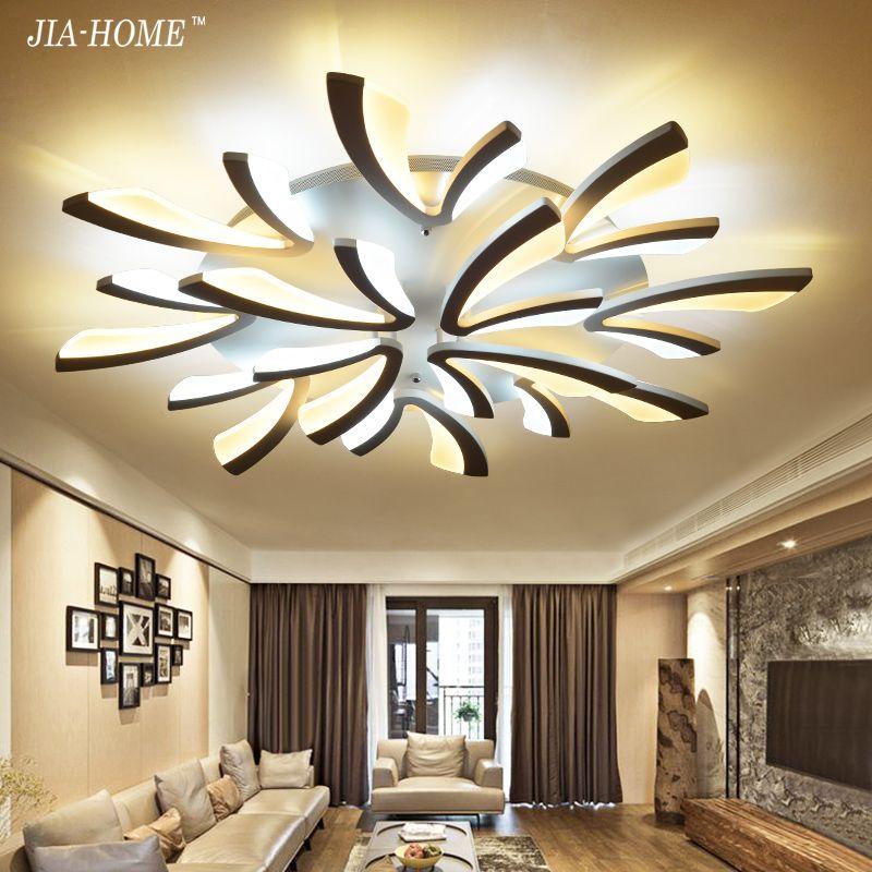 Acrylic Dimmer Modern led ceiling chandelier lights for living room bedroom dining room home Chandelier lamp fixtures AC 90-260V
