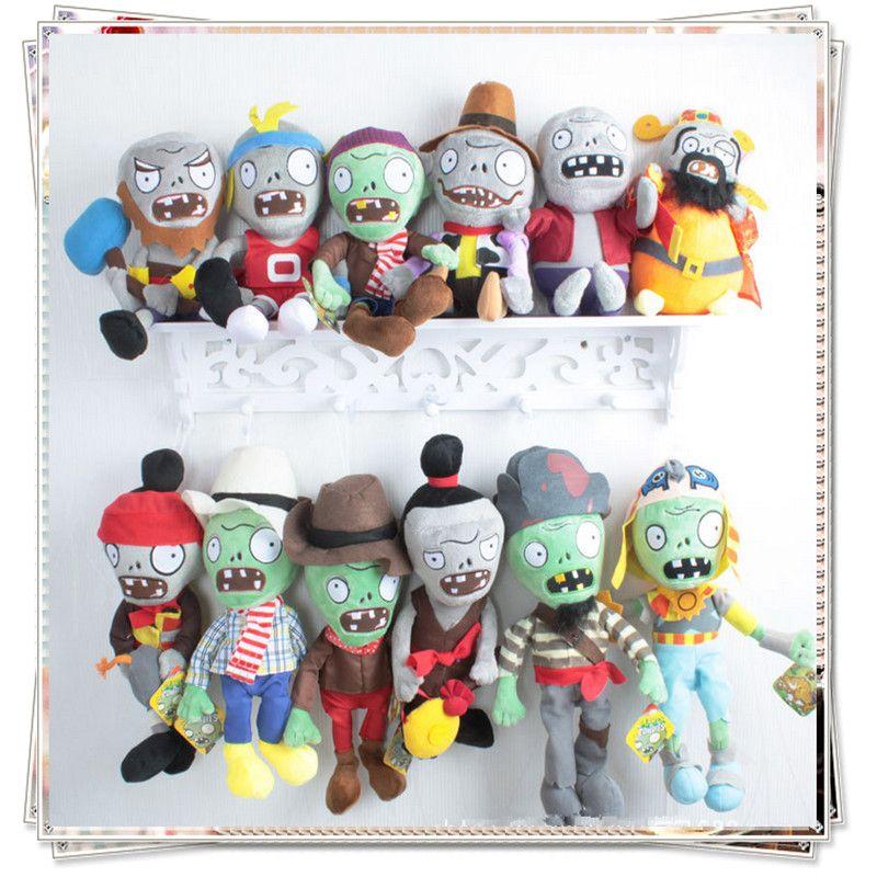 Plantes vs zombies peluche peluche plantes vs zombies cupcake poupée jouets pour enfants plantes vs zombies peluche set jouets pas cher