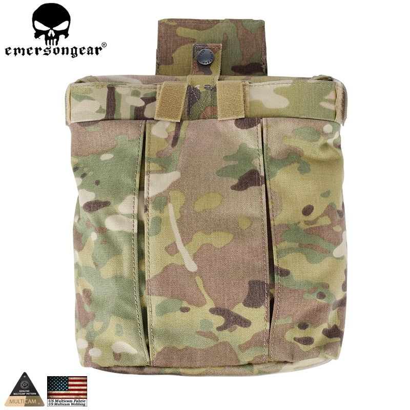 EMERSONGEAR Drop Pouch Tactical Dump Pouch Molle Magazine Pouch Military Airsoft Army Tool Mag Drop Pouch Multicam EM9042