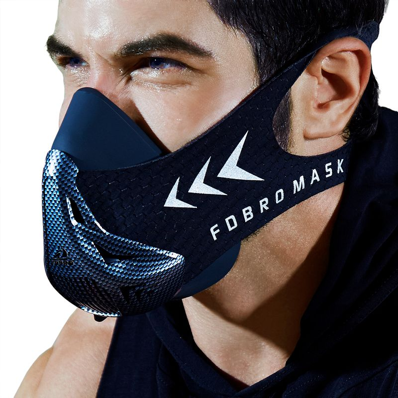 New FDBRO Sport Mask Packing Style Black High <font><b>Altitude</b></font> Training Conditioning Sport Mask 3.0 With Box Free Shipping
