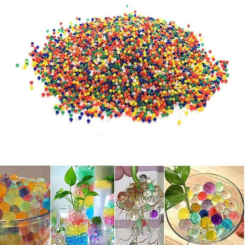 2018 11-13mm 10000 stücke Bunte Wasser Perlen Murmeln Spielzeug