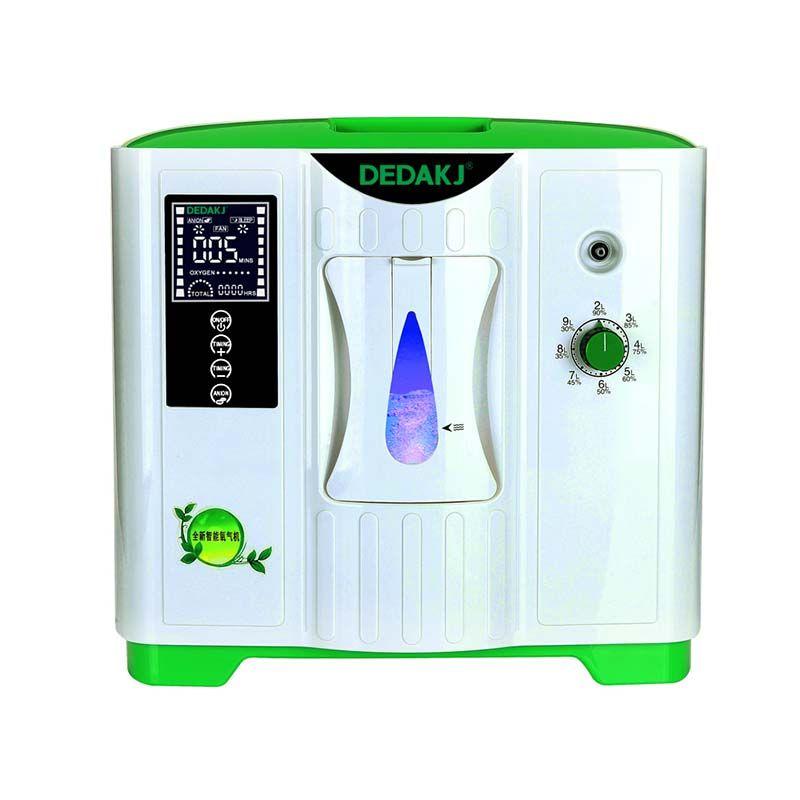 DEDAKJ DDT-2A Tragbare Sauerstoff Konzentrator Generator Sauerstoff, Der Maschine Hause Einstellbare Luftreiniger Hohe Reinheit AC 220 V/110 V