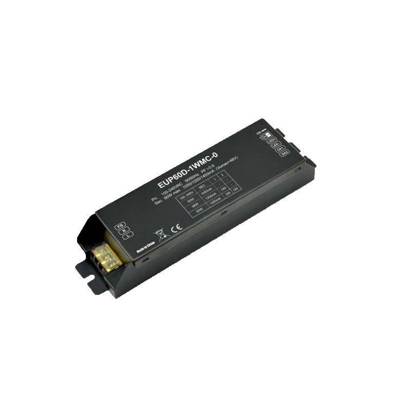 Constant Current DALI Dimmer Decoder Series 120-240VAC 1050mA /1200mA / 1400mA *1 channel DALI LED Controller EUP60D-1WMC-0