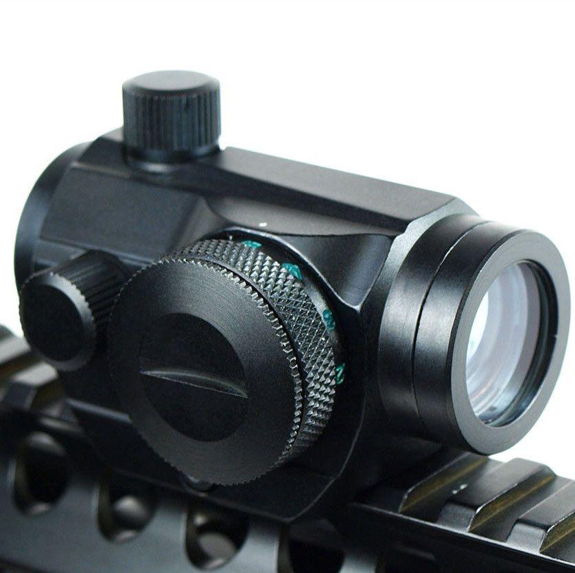 Ámbitos Red Dot Sight 20mm Montaje Pistola Alcance Óptica Riflex Caza Visores de Punto Rojo Airsoft Pistolas de Aire Visores Holográfica vista