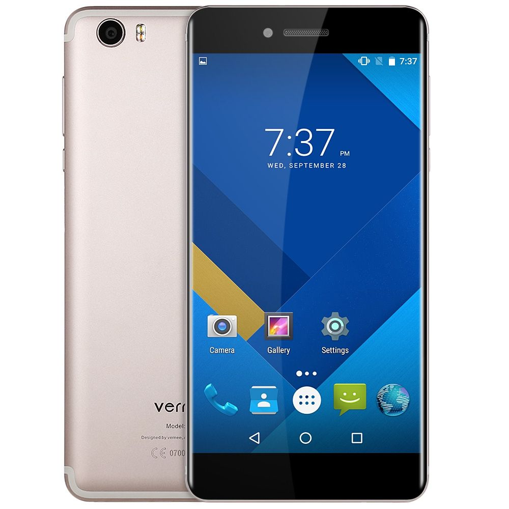 Original Vernee Mars Smartphone Android 6.0 5.5inch 4G Phablet Helio P10 Octa Core 2.0GHz 4GB RAM 32GB ROM 13.0MP Rear Camera