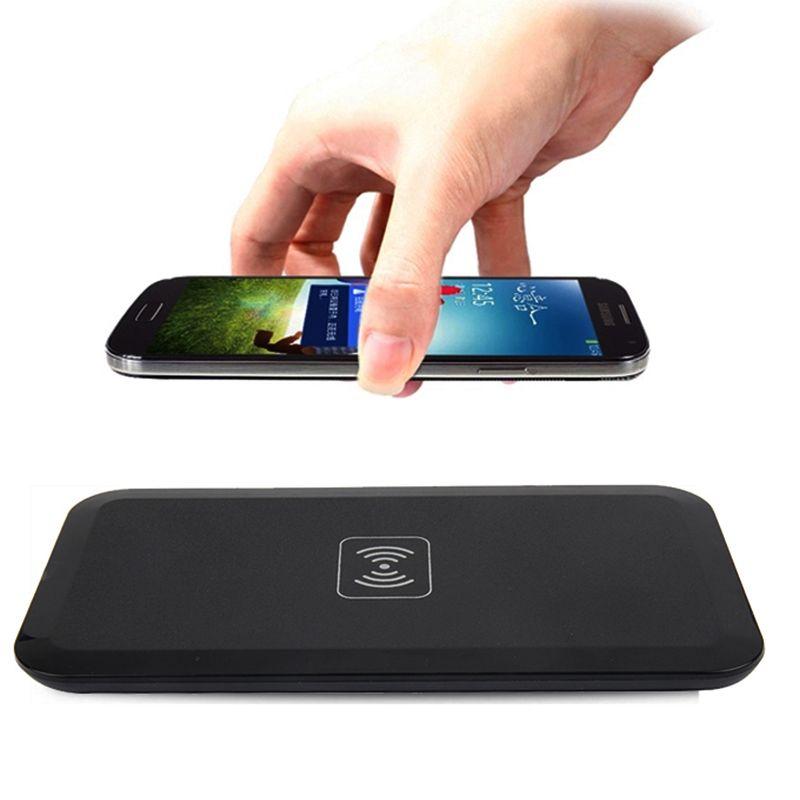 Tragbare Qi Wireless-ladegerät Für Samsung Galaxy S8 S7 S6 rand Drahtloses lade Pad Für iPhone X 8 Plus Nokia Lumia 1520 930 920