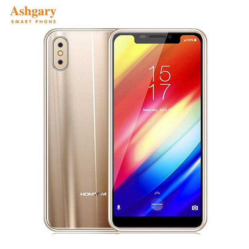 Homtom H10 4G Smartphone Android 8.1 Phablet 5.85 Inch MTK6750T Octa Core 1.5GHz 4GB RAM 64GB ROM 16.0MP+2.0MP Cameras Cellphone