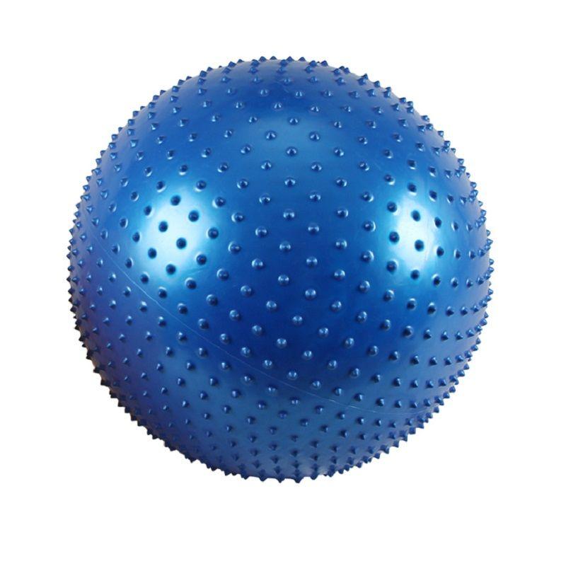 ZYMFOX Yoga Ball Fitness-Ball Pilates Übung Balance Ball Punkt Fitness FTraining Punkt Massage Yoga Pilates Ball Zubehör
