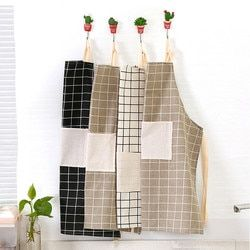 Saingace kitchen apron cooking aprons for woman men Cotton u71121