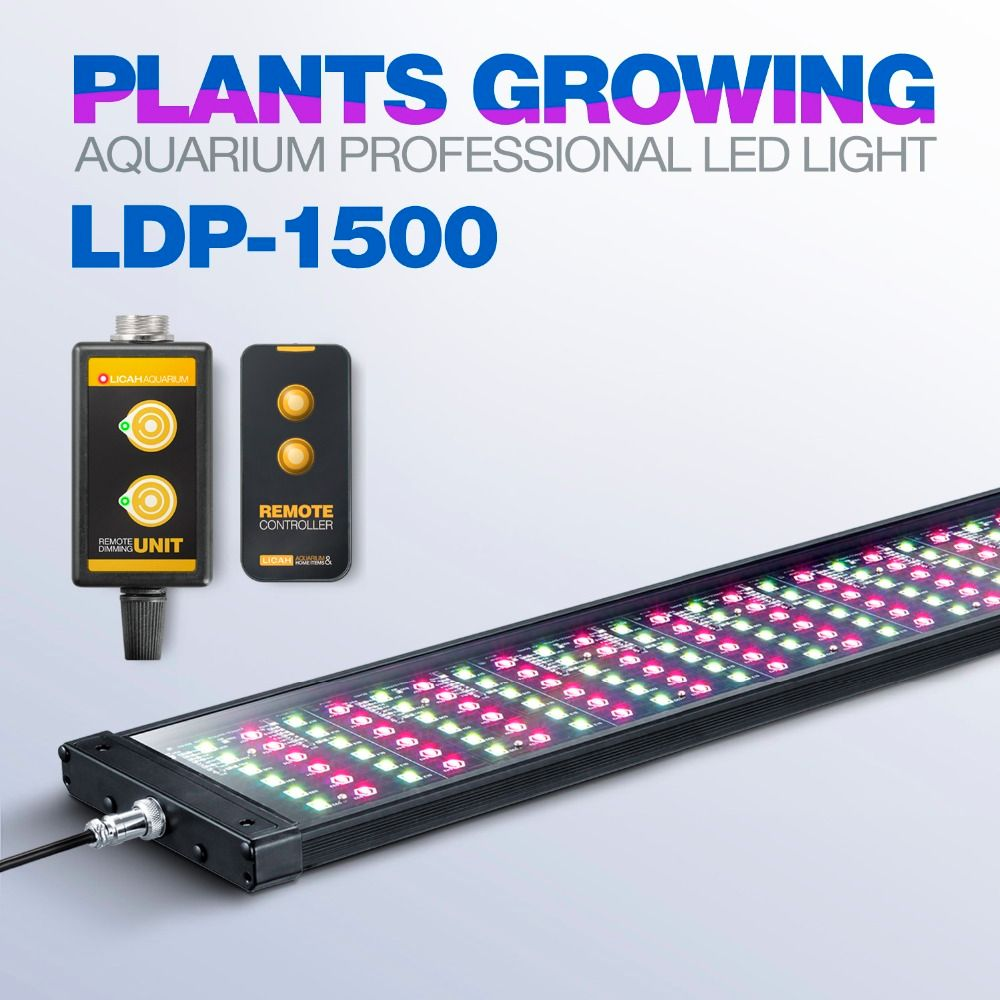 LICAH Fresh Water Aquarium Plant LED LIGHT LDP-1500 Free Shpping