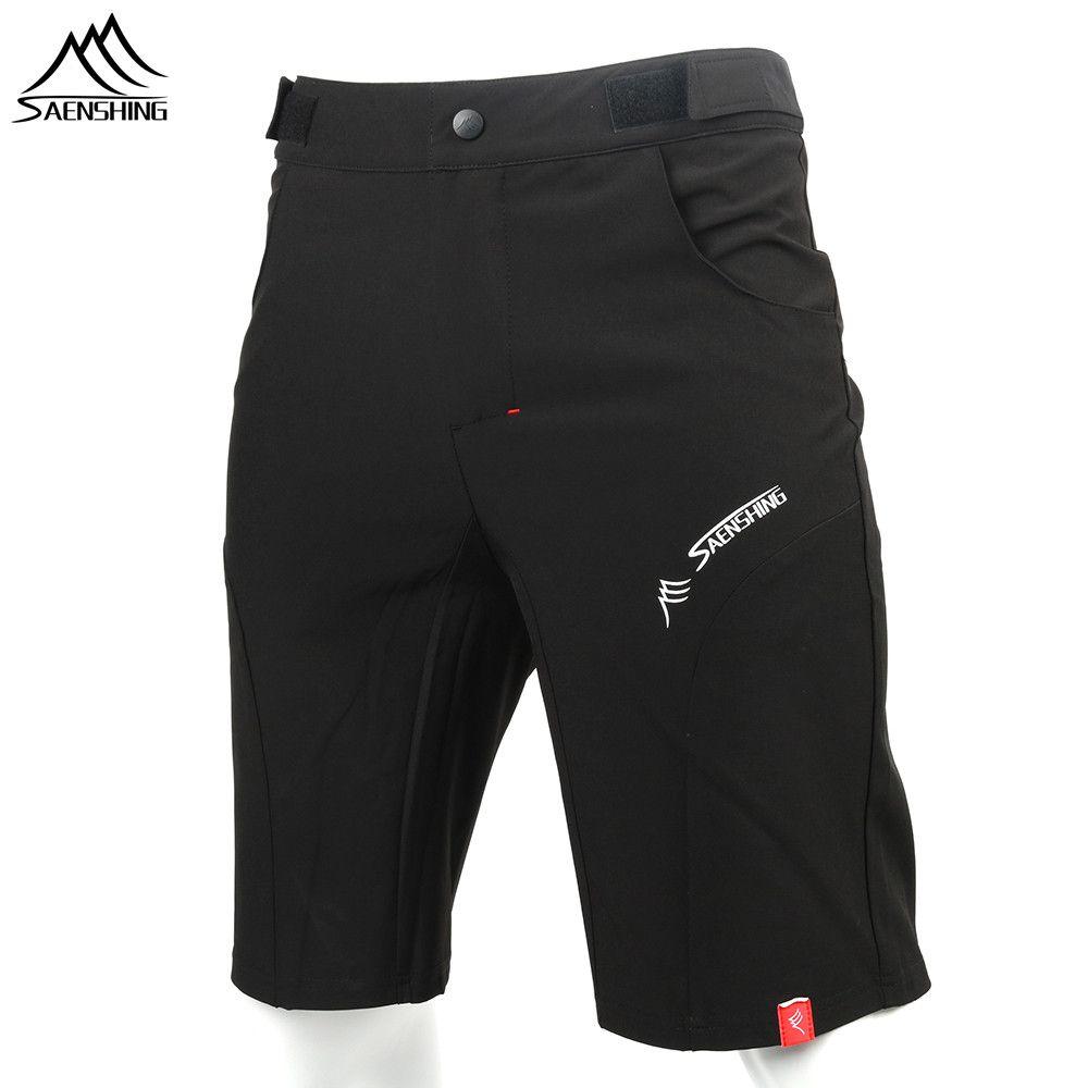 SAENSHING Cycling Shorts Men <font><b>Bicycle</b></font> Downhill Mtb Shorts Adjustable Waist Mountain Bike shorts Sport Short Vtt bermuda ciclismo