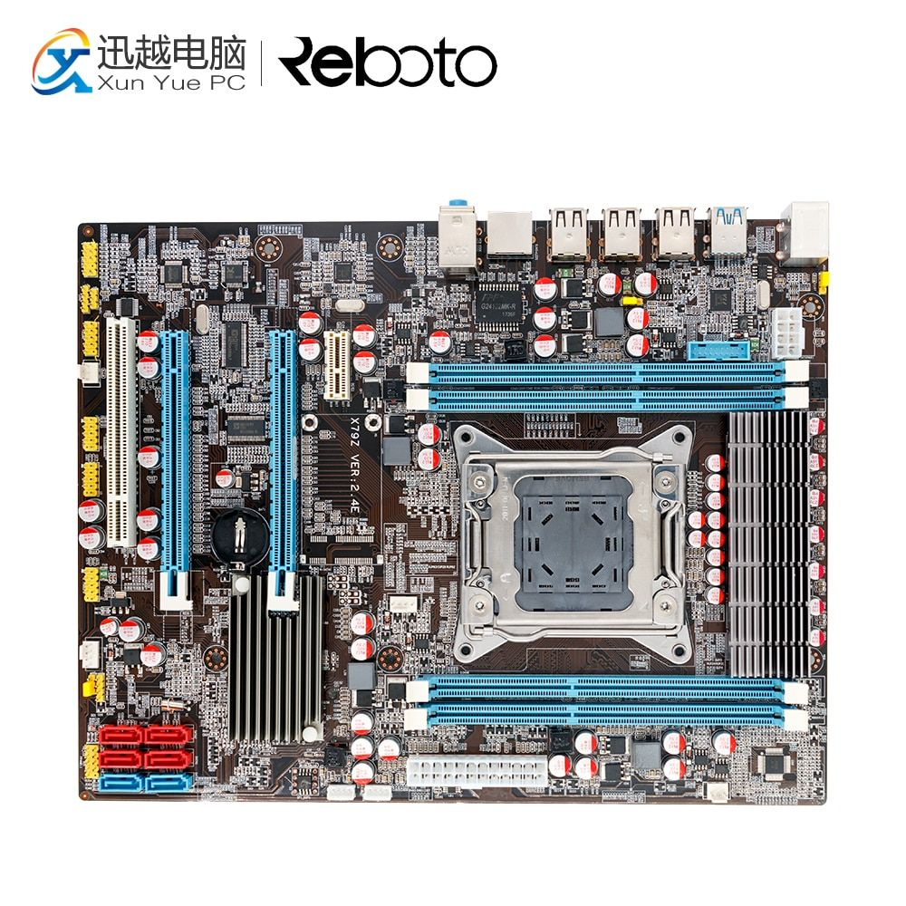 100% OEM New X79Z E5 2.4E Desktop Motherboard X79 LGA 2011 For I7 E5-V1 E5-V2 DDR3/ECC 64G 2*PCI-E SATA3 USB3.0 All-Solid ATX