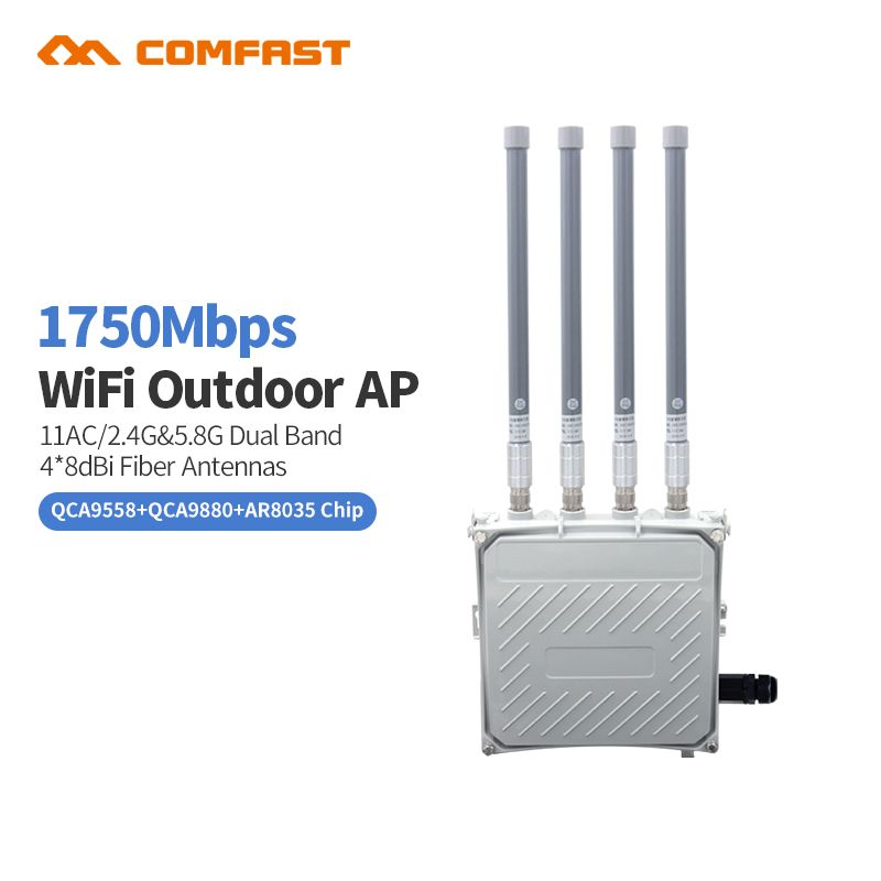 Comfast WA850 1750M 802.11AC dual-band outdoor wireless AP router 2.4+5.8ghz WIFI repeater router bridge wi fi access point AP