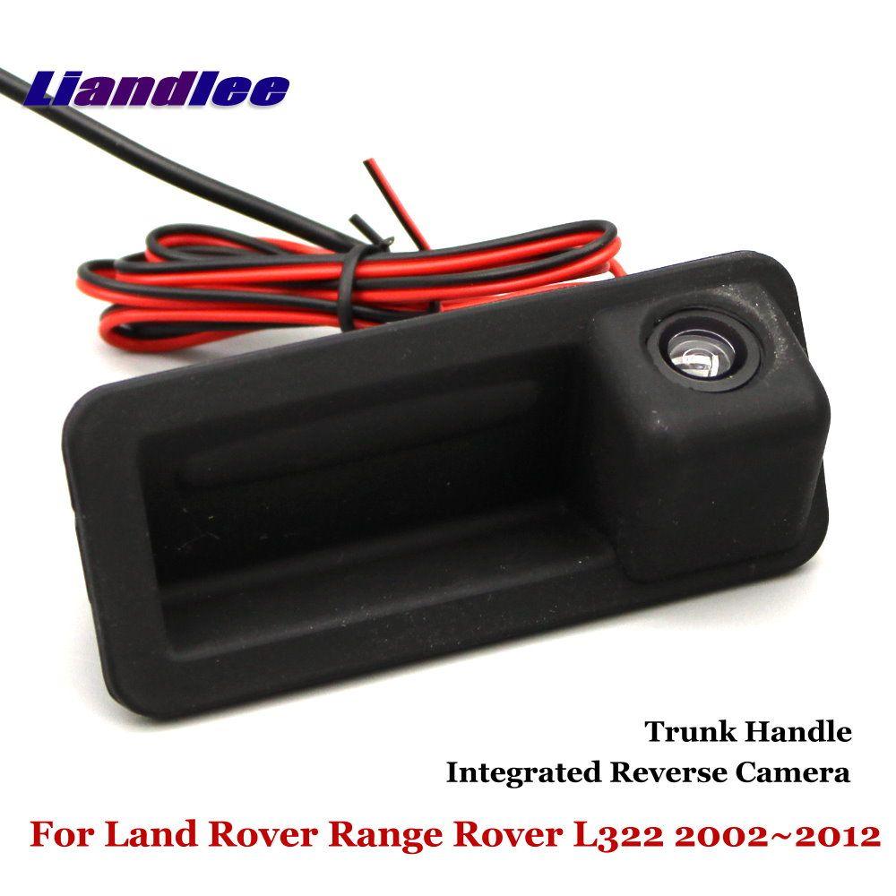 Liandlee Für Land Rover Range Rover L322 2002 ~ 2012 Auto Reverse Kamera Rückansicht Backup-Parkplatz Kamera/Integrierte stamm Griff