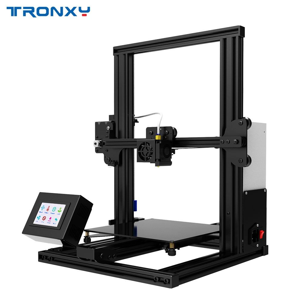 Neueste Tronxy XY-2 3D Drucker Wärme bett Bauen Oberfläche Plattform 220*220mm 3D Fortsetzung Print Power FDM 3d druck PLA Filament