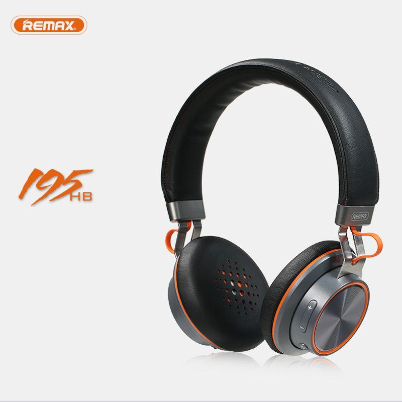 Беспроводные наушники bluetooth стерео Remax 195hb гарнитура Bluetooth 4.1 Музыка гарнитура Накладные наушники с микрофоном для Xiaomi