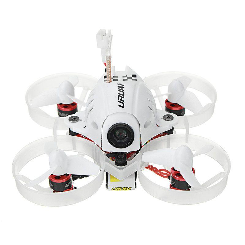 URUAV UR65 65mm FPV Racing Drone BNF Crazybee F3 Flight Controller OSD 5A Blheli_S ESC 5.8G 25mW VTX RC Models VS Eachine E10S