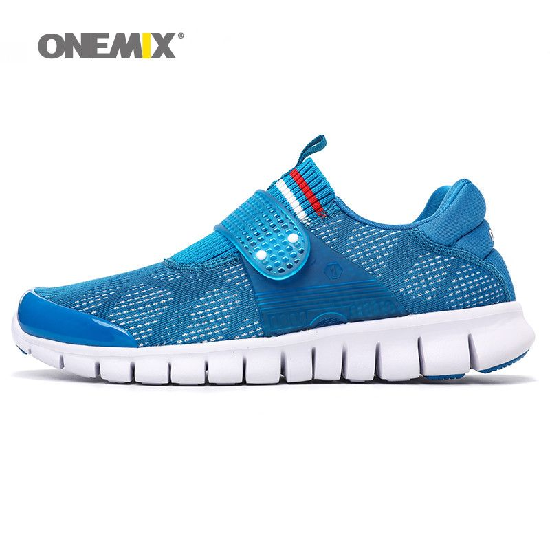 Onemix men running shoe summer cool athletic shoes breathable sneakers for women super light outdoor walking shoes for size36-45