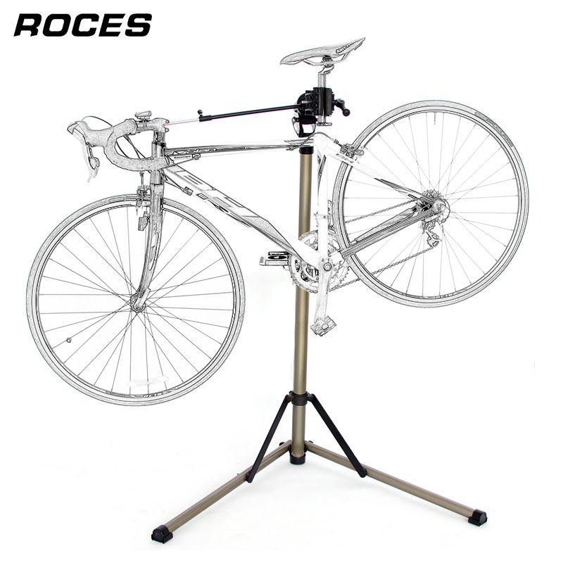 Aluminum Alloy Bike Repair Stand Professional Bicycle Repair Tools Adjustable Fold Bike Rack Holder Storage Bicycle Repair Stand
