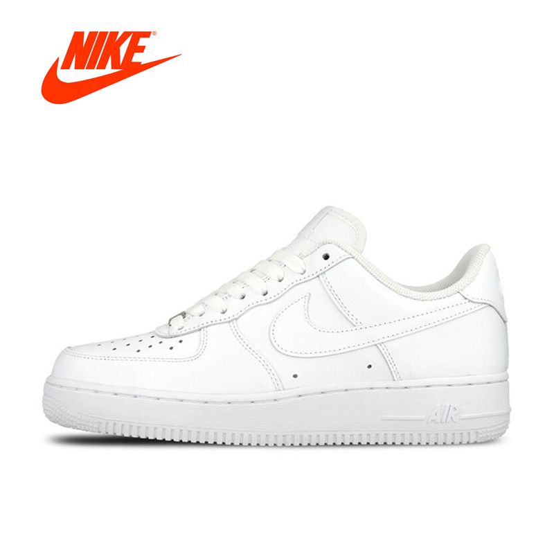Original Neue Ankunft Offizielle Nike AIR FORCE 1 AF1 Männer Atmungs Skateboard Schuhe