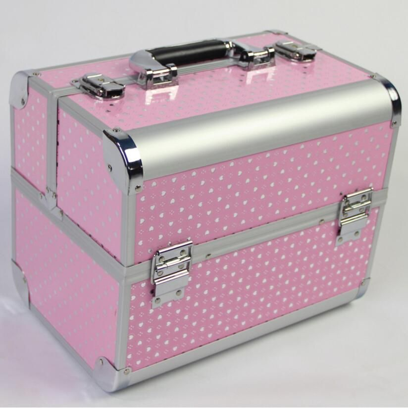 Large Capacity Storage Box,Multi Colours Makeup Organizer,Pink Jewelry Box,Make Up Cosmetic Organizer,Makeup Storage Girl's Gift