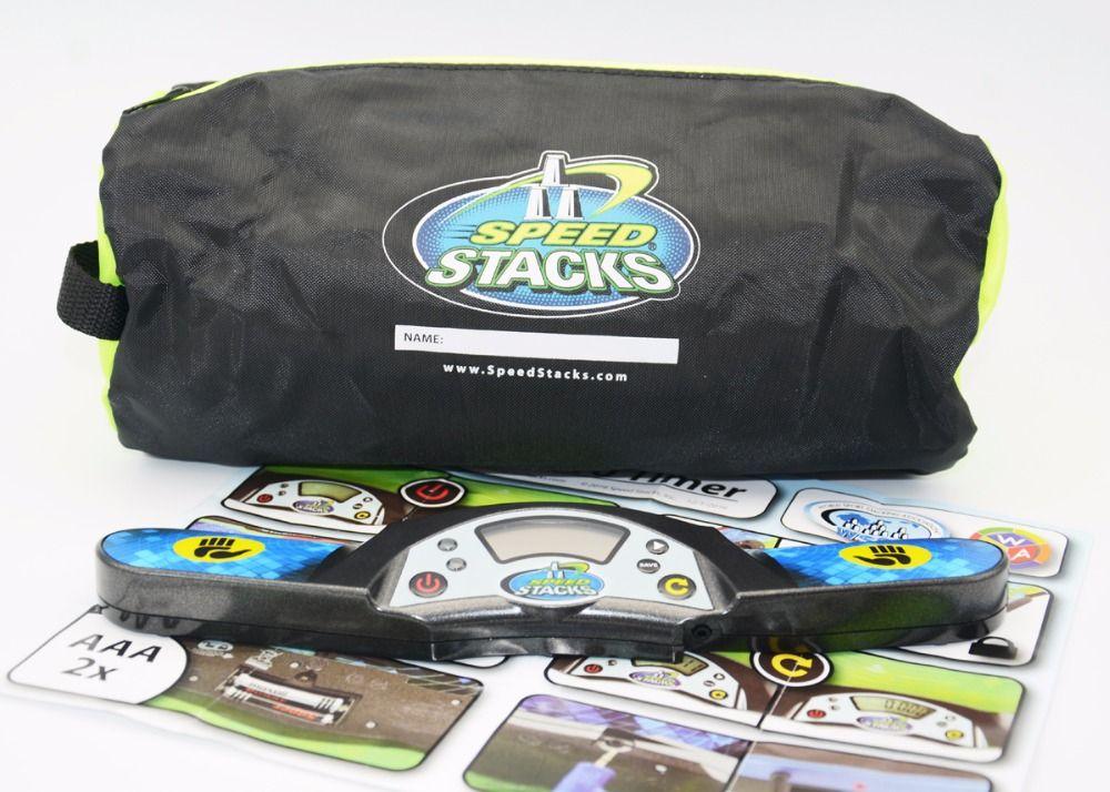 Скорость стека Pro G4 таймер + сумка поставляется без Батареи Летающая чашка Скорость Magic Cube таймер для 2X2 3x3 все Слои Cubo magico Игрушечные лошадки