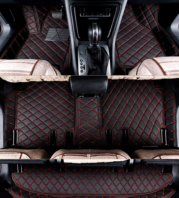 Top quality! Custom special floor mats for Nissan Pathfinder R52 7seats 2017-2013 Easy to clean non-slip carpets ,Free shipping