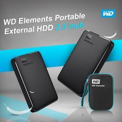 Western Digital WD Elements Portable HDD External HDD 1 TB HDD 2 TB 2.5