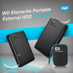 Western Digital WD Elements Portable HDD External HDD 1TB HDD 2TB 2.5