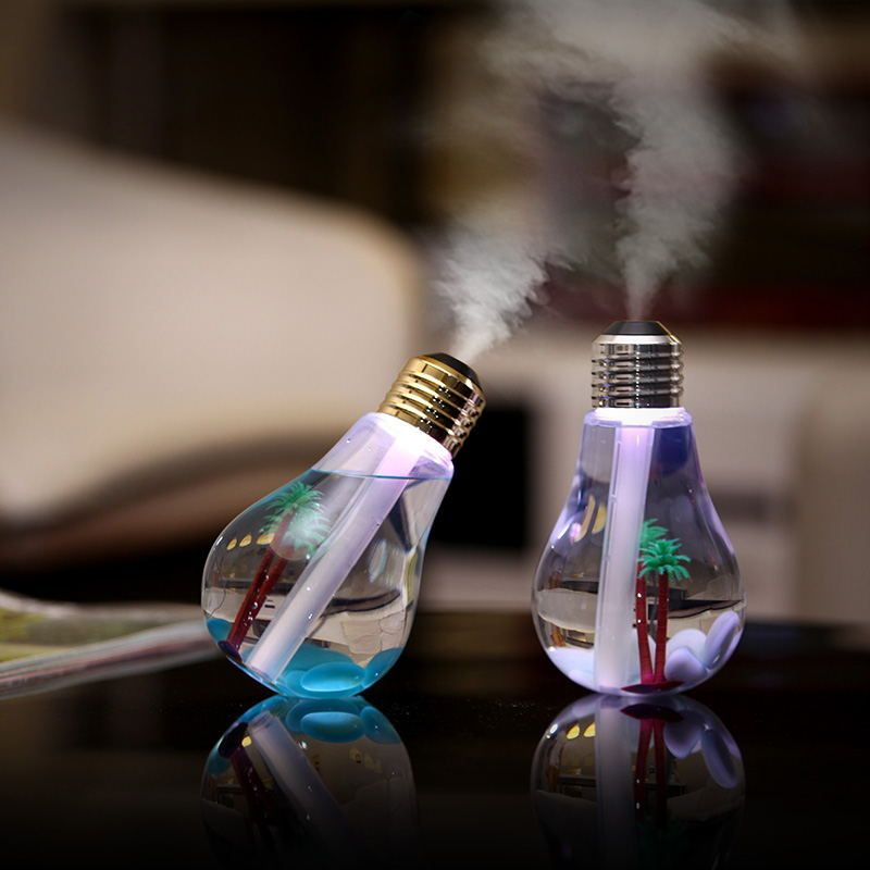Easehold USB Ультразвуковой увлажнитель Офис Мини Арома диффузор светодиодный ночник ароматерапия тумана Творческий бутылка лампы