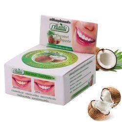Хит продаж 1 шт. Таиланд кокосовое Зубные пасты s травяные гвоздики Зубные пасты Отбеливание зубов Средства ухода за мотоциклом x10g