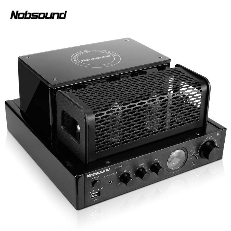 Nobsound MS-30D Bluetooth ausgangsleistung 25 Watt elektronenröhre verstärker HIFI galle maschine verstärker USB