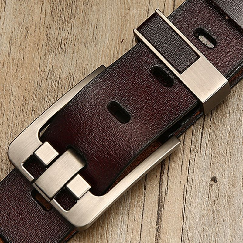[DWTS]belt male leather belt men male genuine leather strap luxury pin buckle belts for men belt Cummerbunds ceinture homme