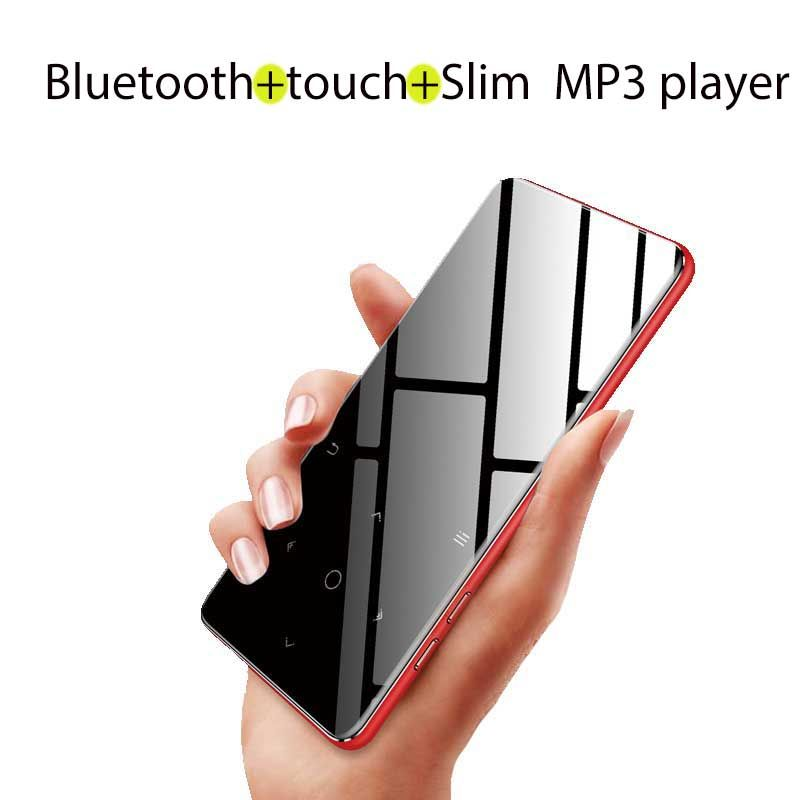 Btsmone new version Bluetooth touch MP3 music player Slim walkman Suit for Running Walking and Climbing Bulit-in 8G and Speaker