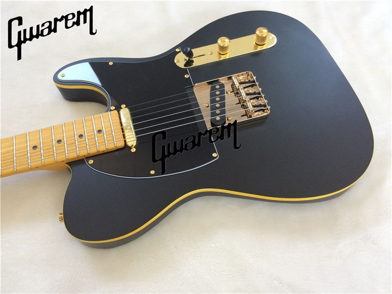 Electric guitar black color electric guitar/2018 new tl good sound guitar/guitar in china