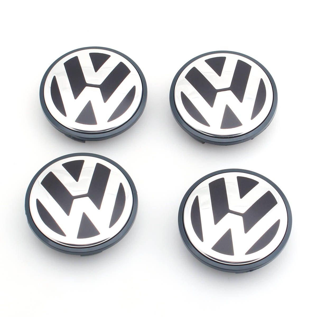 4pcs/set OEM 65mm Wheel Center Cap Logo Hub Cover Badge Emblem for VW Jetta MK5 Golf Passat 3B7 601 171