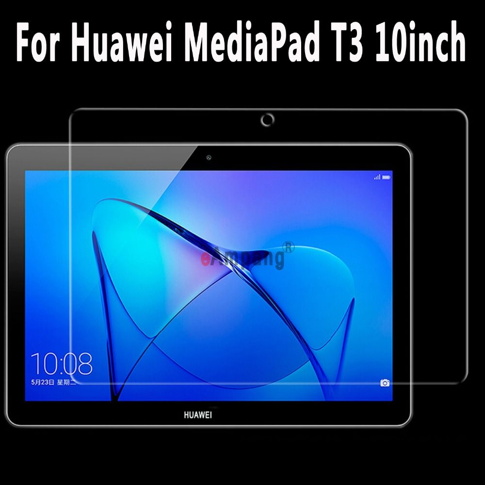 For Huawei MediaPad T3 10 9.6 inch Tempered Glass Ultra-thin Clear Scratch Resistant Screen Protector Film For Huawei T3 10