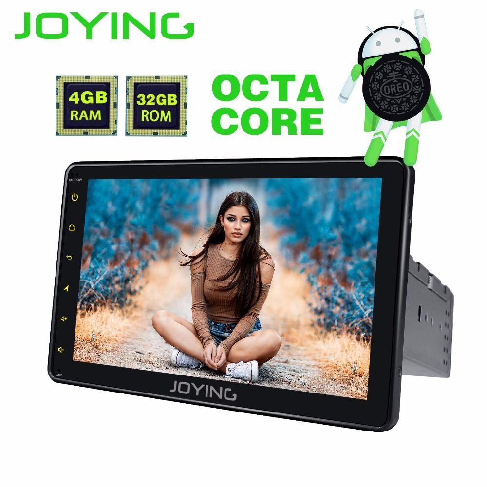 JOYING Android 8.0 1din PX5 4 gb RAM Octa core autoradio GPS Android auto stereo 8 ''HD Touchscreen band recorder unterstützung Carplay