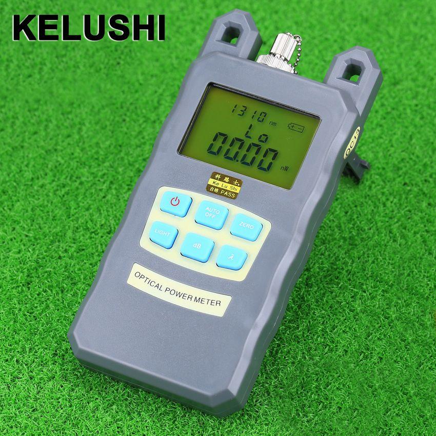 KELUSHI new Precision Fiber Optic Leistungsmesser Tester Sieben-Wellenlänge Optischen Leistungsmesser