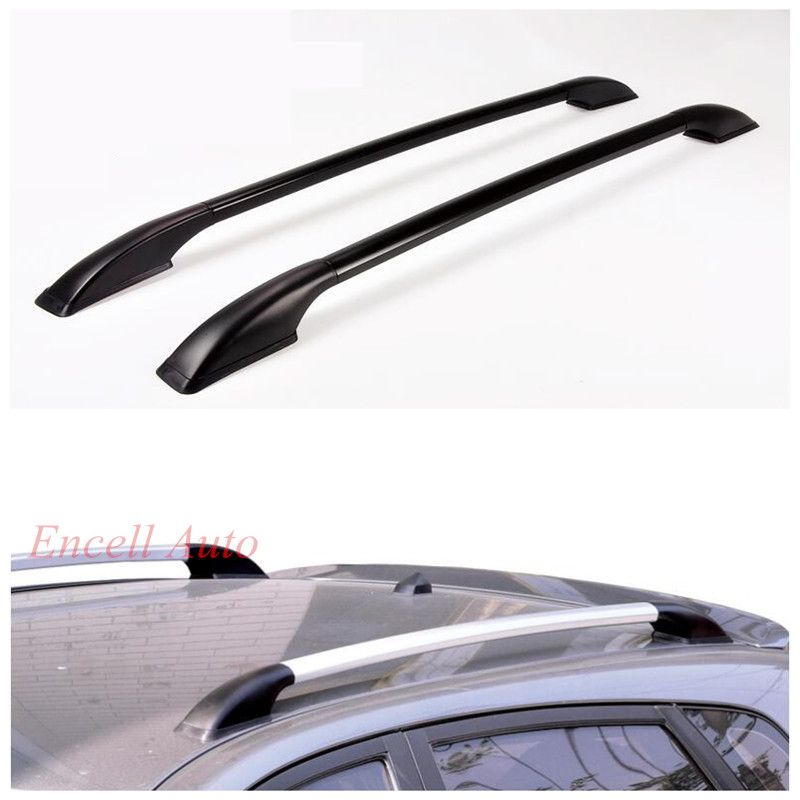 2pcs/Set Aluminum Alloy Roof Racks Roof Boxes Roof Rack Bars Roof Rack Sticker Fit for Mazda 2 3 for Peugeot 206 207 208 Car