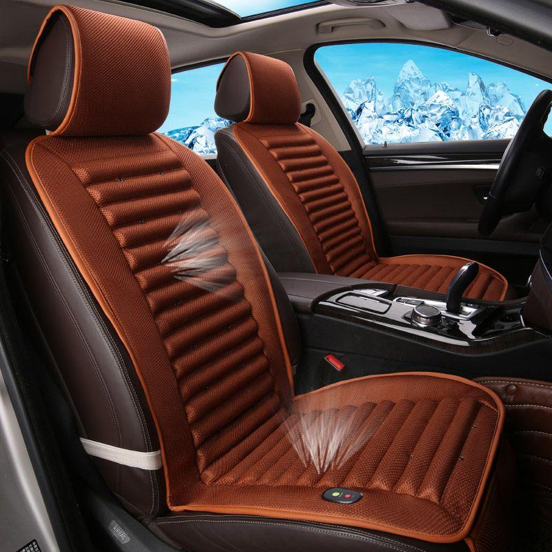 Built-In Eco-Friendly Fan Car Cushion Ventilation Car Seat Cover For Chevrolet Cruze Malibu Sonic Spark Trax Sail Captiva Epica
