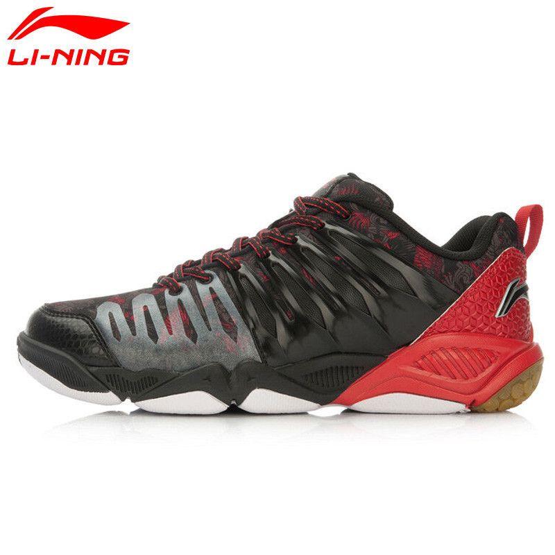 Li-Ning Professional Badminton Shoes for Men Hard-wearing Lining Athletic Sneaker Anti-Slippery Sport Shoe Li Ning AYTL039 L640