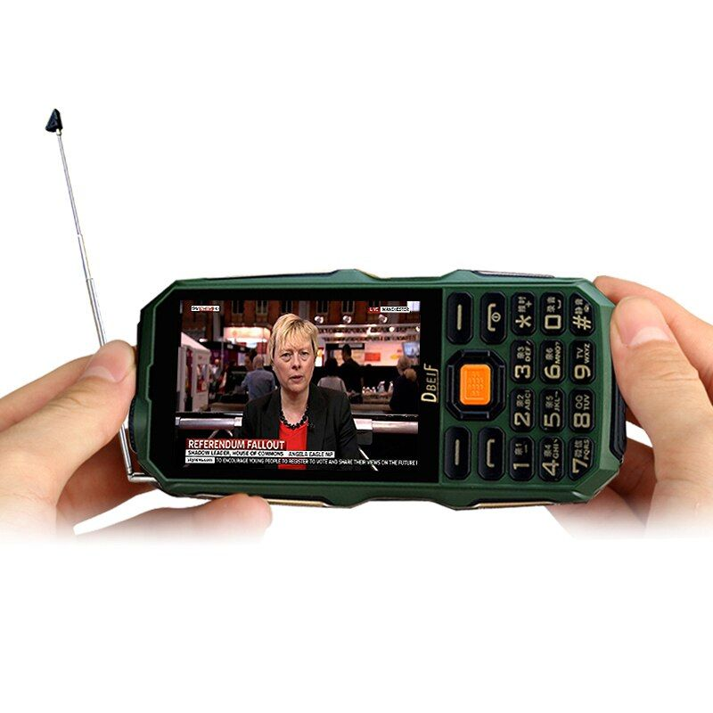 DBEIF D2016 Rugged Outdoor Analog TV 3.5