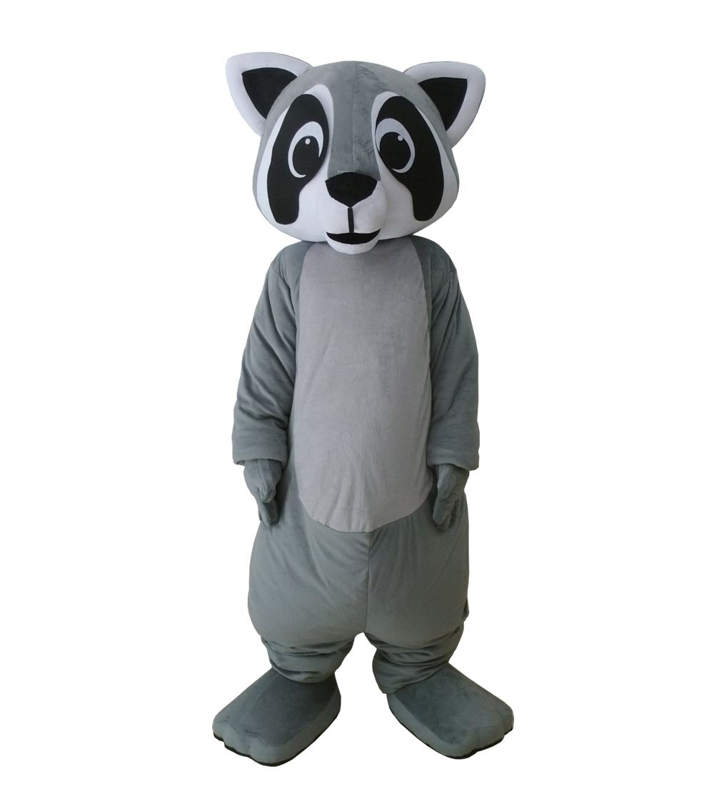 Hot Little Raccoon mascot costumes character grey bear mascot costumes Raccoon costumes for Halloween party event